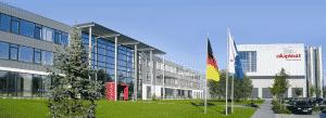 Kunststof profielen voor kunststof kozijnen worden in Duitsland gemaakt door Aluplast in Karlsruhe.
