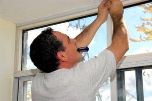 Inmeten van kunststof ramen en deuren is belangrijk omdat de nieuwe kozijnen de juiste afmetingen moeten krijgen.